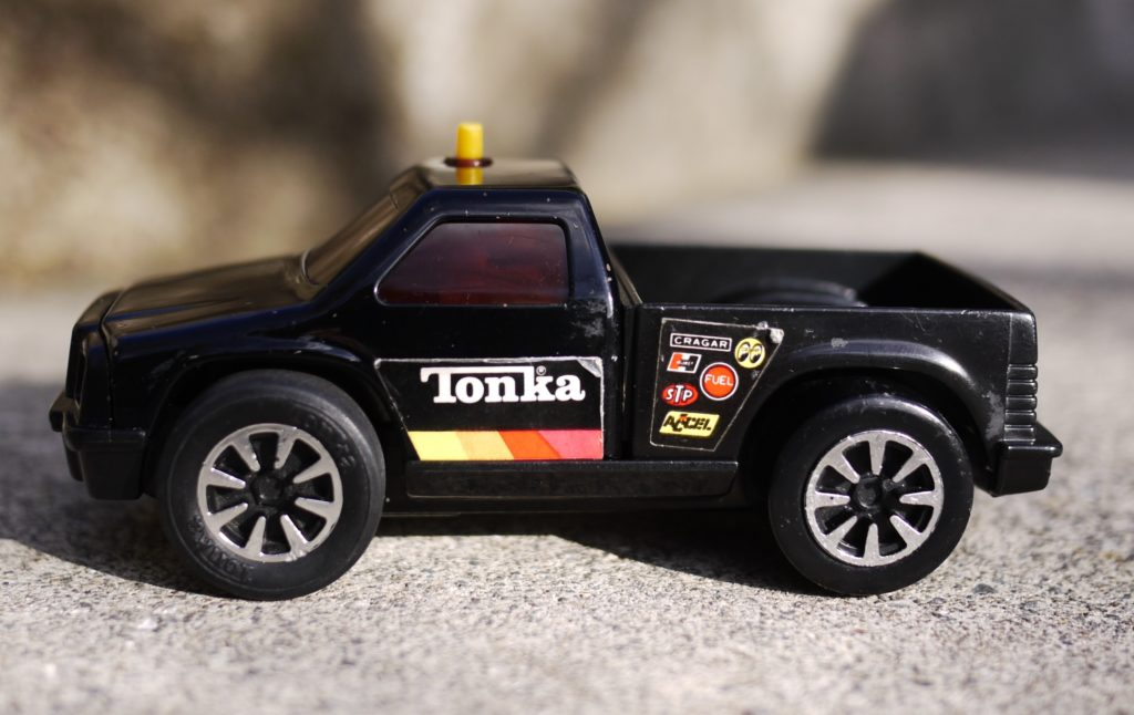 A photograph of a Tonka Clutch Popper, Pickup